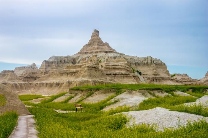 4. Badlands National Park, South Dakota