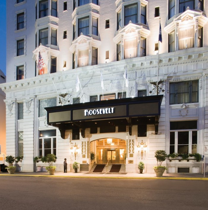 10. The Roosevelt Hotel, 130 Roosevelt Way