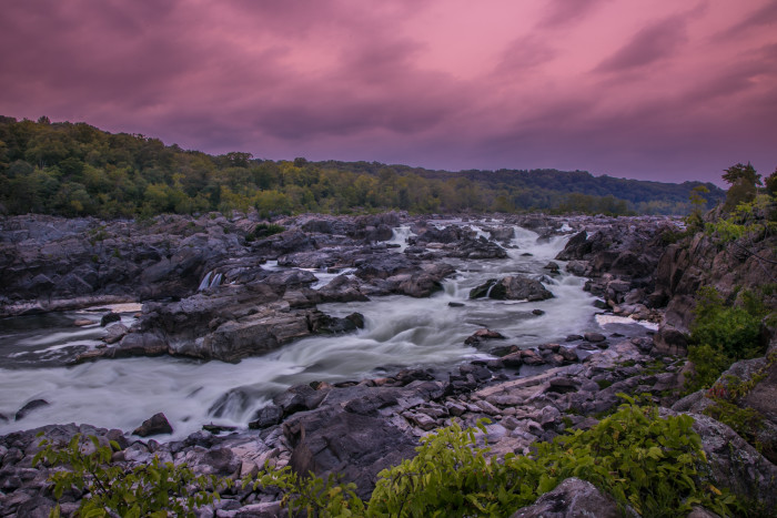 1. Powerful rivers flow through Maryland, perfect for white water rafting or simply taking in the gorgeous views.