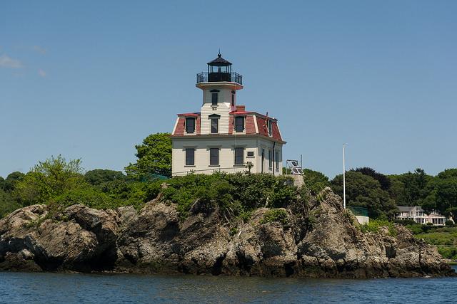3. Pomham Rocks Lighthouse, East Providence