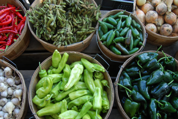 9.  Farmers markets.