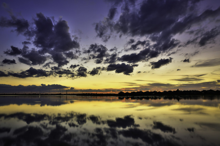 10. An absolutely stunning view of Pflugerville Lake.