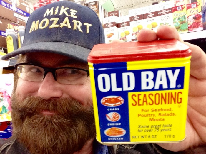 12. Old Bay. KIDDING. We know you're taking that with you wherever you go.