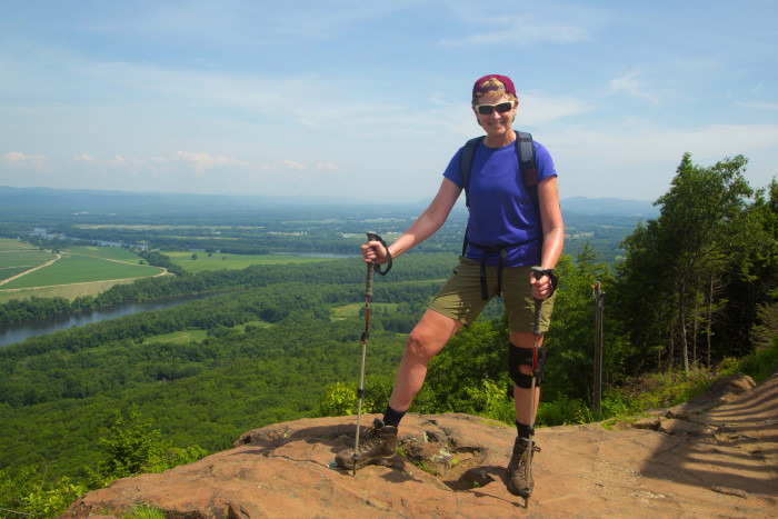 2. Hiking Mount Holyoke, a.k.a. Skinner Mountain, in Hadley is sure to put a glow in your cheeks, both from exertion (it's not a hike recommended for beginners) and the beauty of the surrounding landscape.