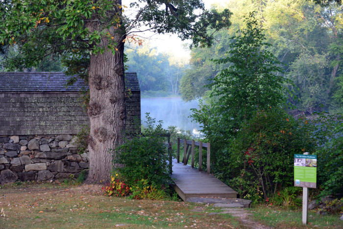 18. The Old Manse Boathouse in Lexington is a private spot where your worries will never find you.