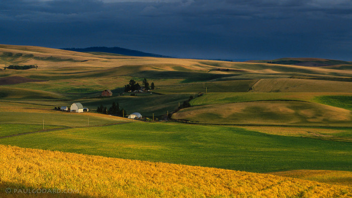 8. This classic photo captures the rural beauty of Idaho.