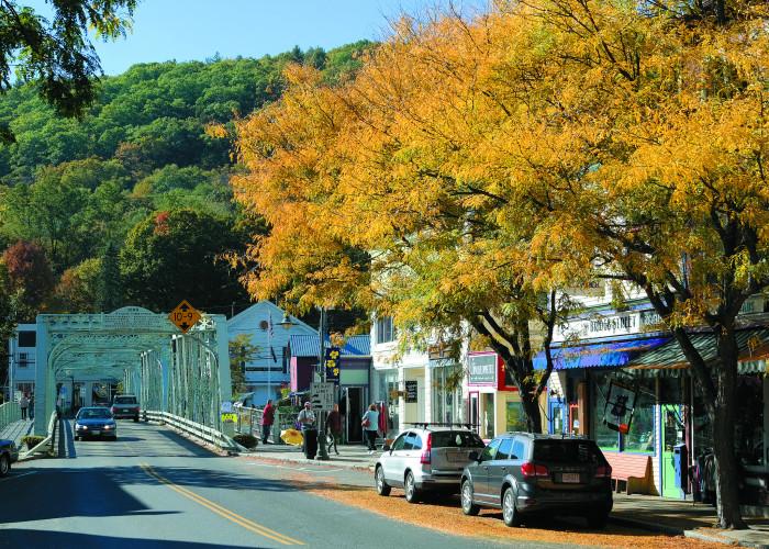 1. Shelburne Falls, Massachusetts