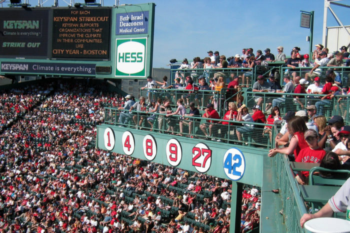 2. The only perfect game played at Fenway was achieved by Earnie Shore in 1917.