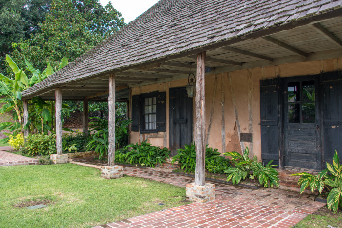 Natchitoches is also filled with beautiful historic architecture, like the Roque House, pictured here.