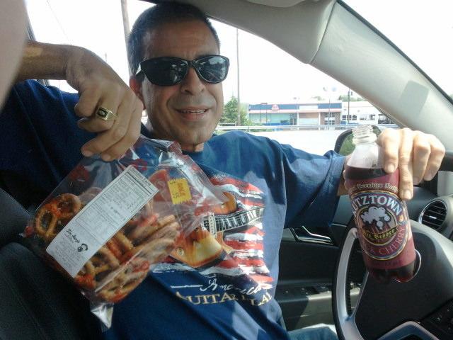10. In Philadephia, you may not put pretzels in bags.
