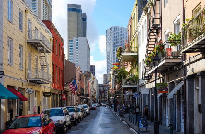 7) Chartres St. in the French Quarter Morning