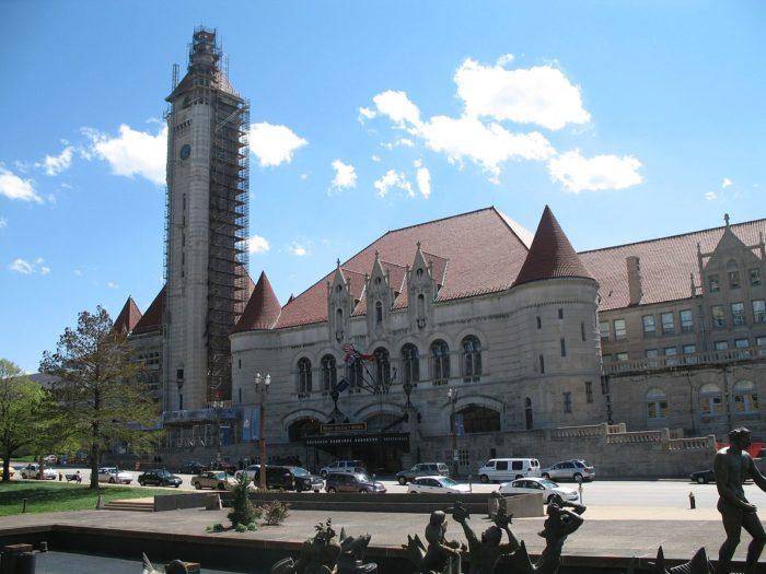 16.  Union Station, St. Louis