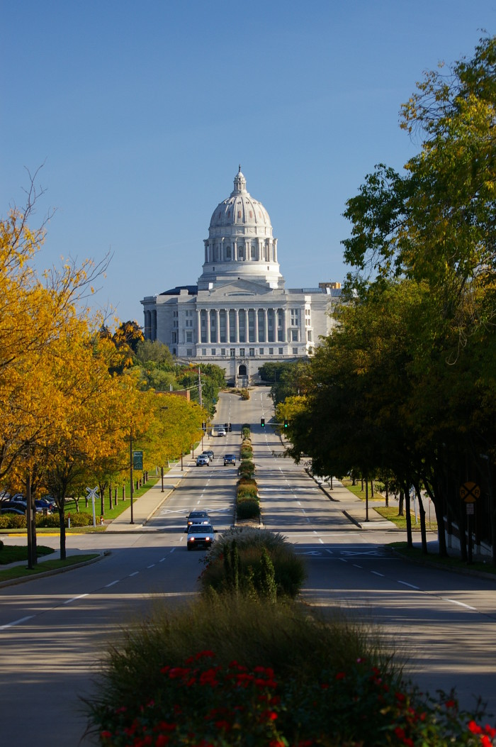 16.6. Capitol Building from Main Street, Jefferson City