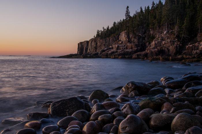 Maine: Otter Cliffs, Mount Desert Island
