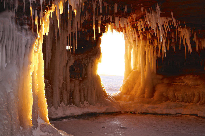 Wisconsin: Apostle Islands National Lakeshore Ice Caves