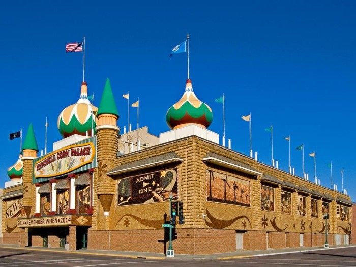 3. The Corn Palace in Mitchell.