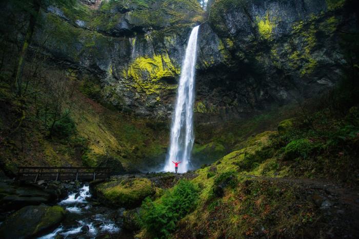 13. Elowah Falls