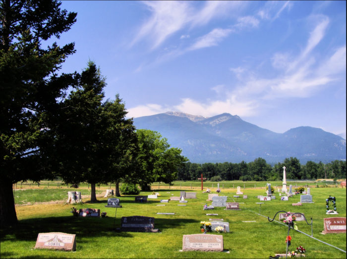 There are two cemeteries onsite marking the graves of the patients who never left.