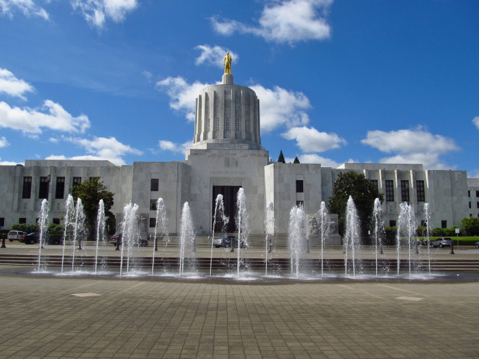 4. The Oregon State Capitol Building