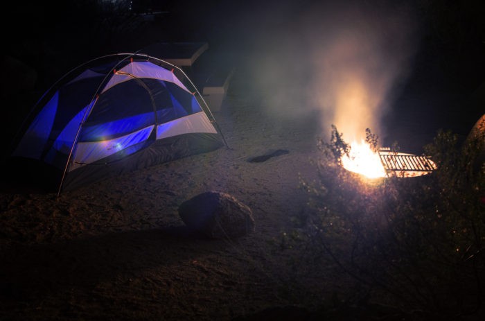6. Summer simply isn't summer until you've gone on a camping trip, as pictured here in Joshua Tree.