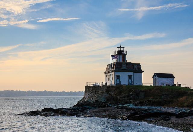 2. Rose Island Lighthouse