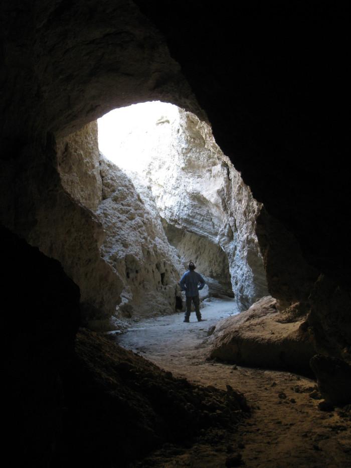 4. Arroyo Tapiado Carrizo Badlands Mud Caves