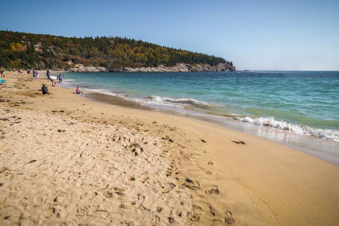 7. Sand Beach, Acadia National Park, Mt. Desert Island