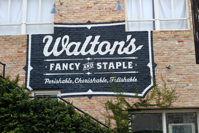 1. Walton's Fancy & Staple is quite the fancy little sandwich shop on West 6th. They serve hearty sandwiches during the day time along with other deli beverages and desserts.