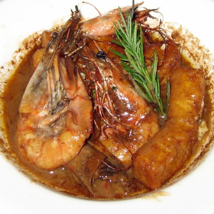 1) BBQ Shrimp