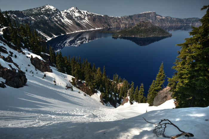 18. Crater Lake is one of the most enchanting places on Earth.