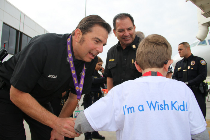 7. The Make-A-Wish Foundation was inspired by two Arizona DPS officers who helped a young boy become an honorary police officer before he died of leukemia in 1980.