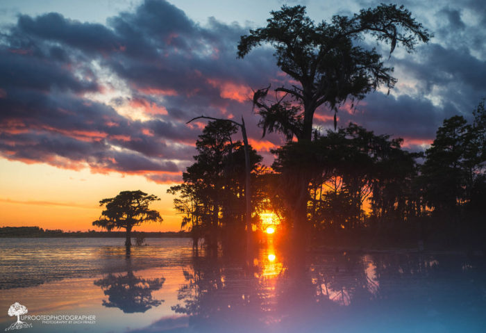 1. A misty sunset along the Neuse River makes for a gorgeous summer scene.