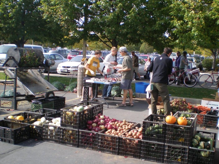 4. Fort Collins Farmers Market (1001 E Harmony Rd., Fort Collins)