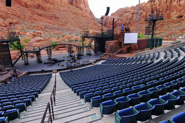 See a show at St. George Musical Theater or Tuacahn Amphitheater.