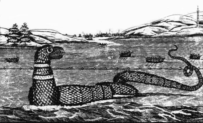 8. Gloucester Harbor Sea Serpent