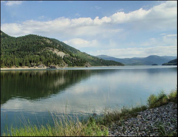8. Libby Dam and Lake Koocanusa
