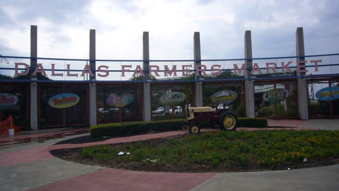3. Dallas Farmers Market (Dallas)