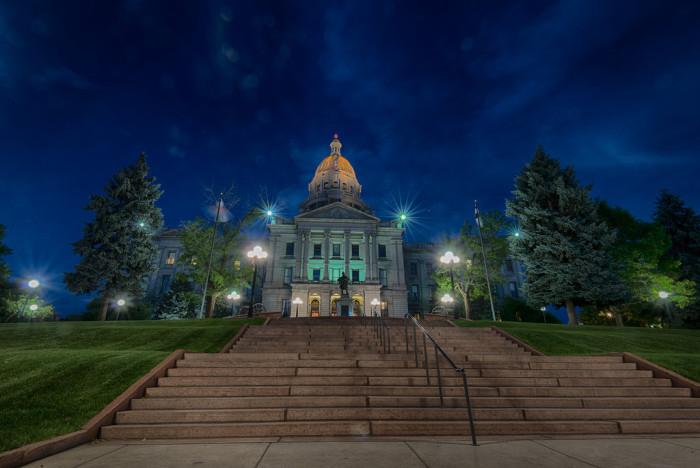 1. The 13th Step of the Colorado State Capitol Building