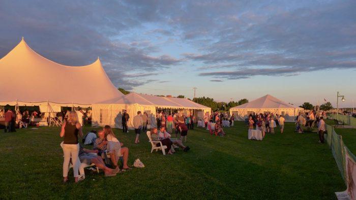 4.  Burlington Wine & Food Festival - June 18, Burlington