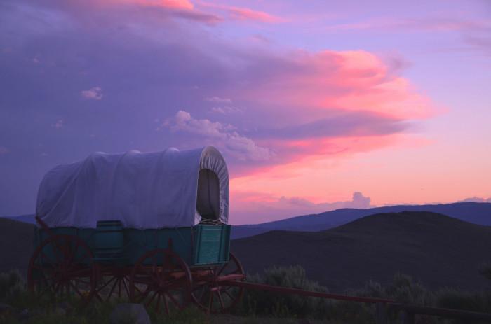 10. The Oregon Trail Interpretive Center