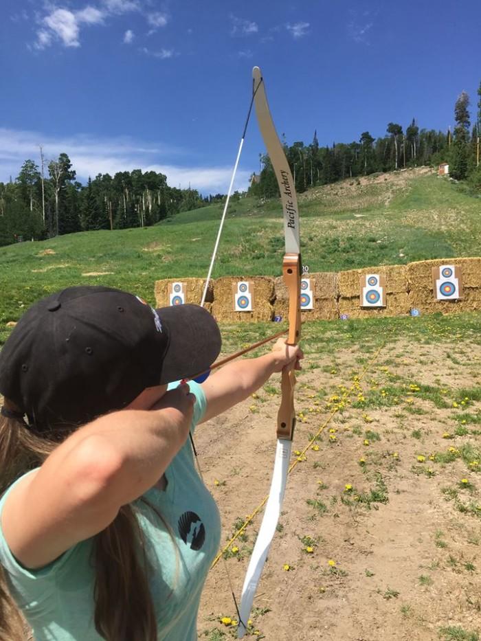 21. Practice your archery skills.