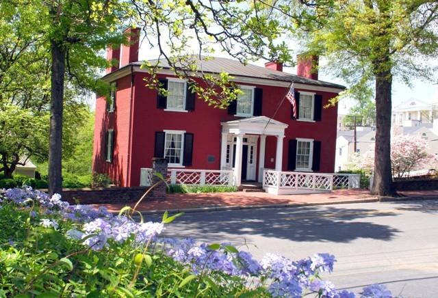 9. Woodrow Wilson's birthplace