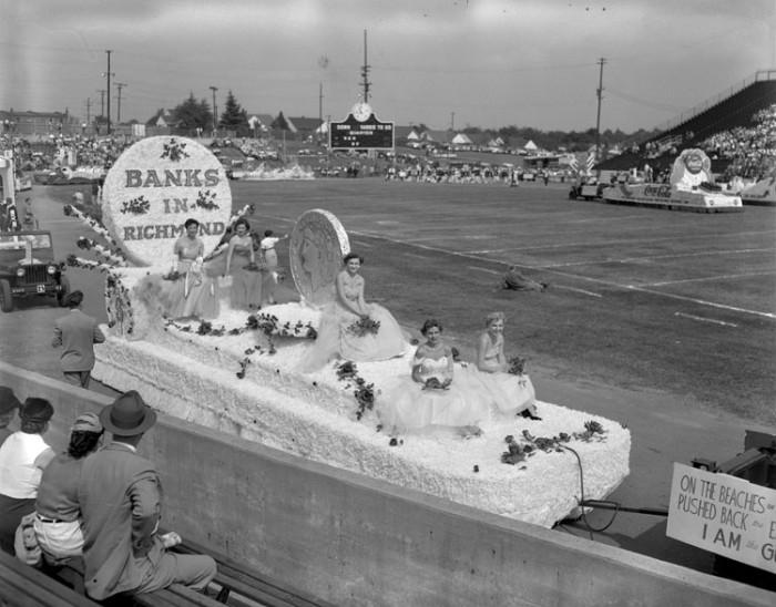 7. Richmond's Tobacco Festival parade (1953)