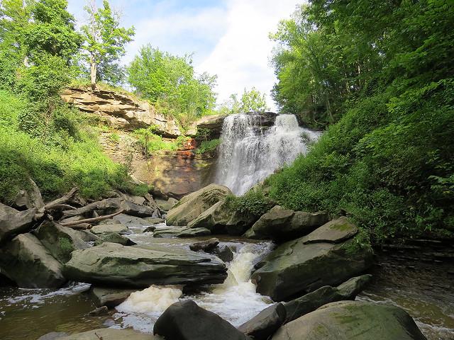 7. Brandywine Falls