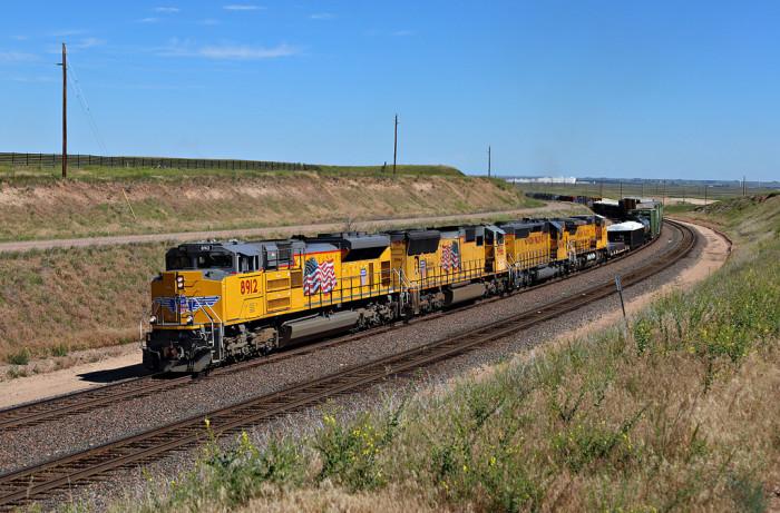 6. Union Pacific Train