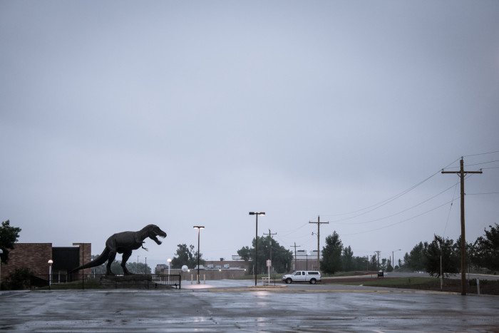8. Light Up Life-Size T-Rex
