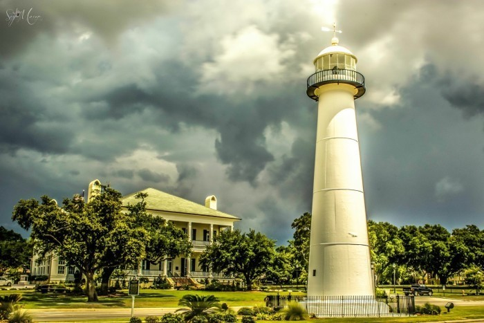 2. Tour one of the most renowned landmarks on the Mississippi Gulf Coast.