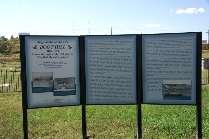 2. Boot Hill Cemetery, Sidney