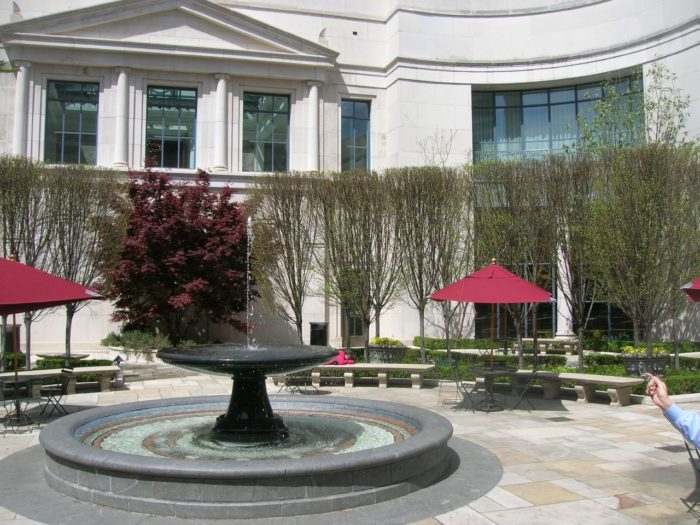 2. Downtown Library Courtyard