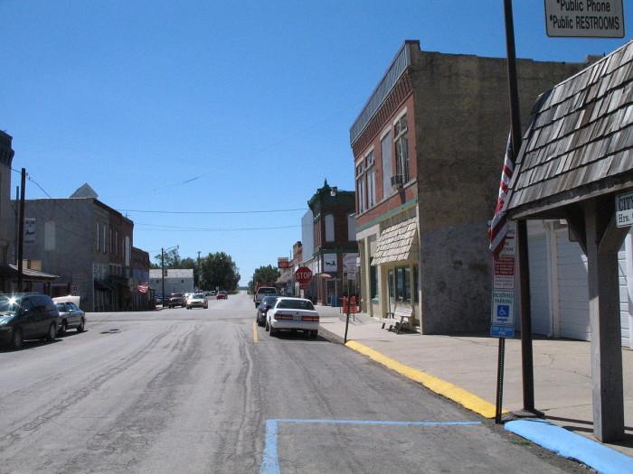 2.Jamesport, Population: 515